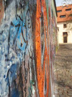 praha prague travel lennon wall