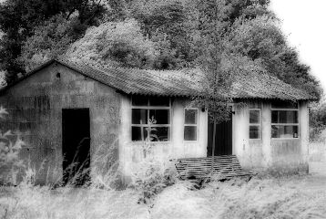 photography black & white vintage buildings old photo