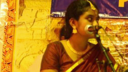 indian vocal singapore temple classical carnatic