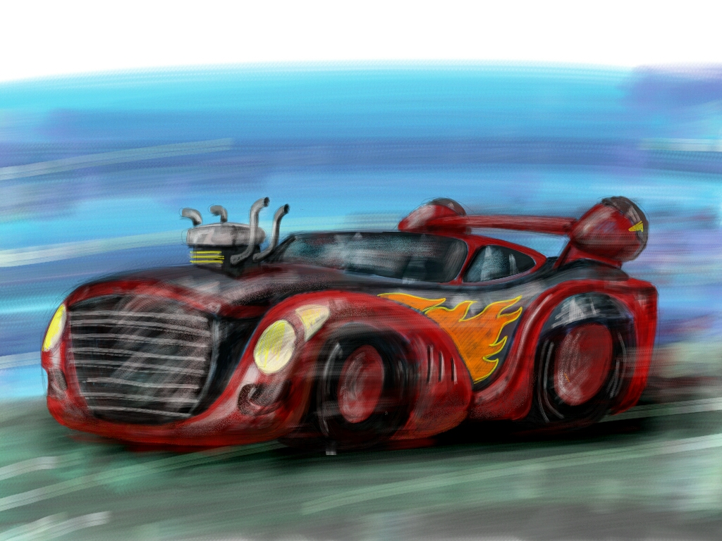 How To Sketch A Car Dcsupercar Tutorial Create Discover With